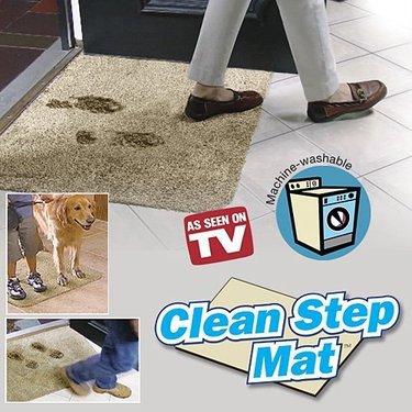 """Коврик придверный """"Ни следа"""" (Clean Step Mat)"""