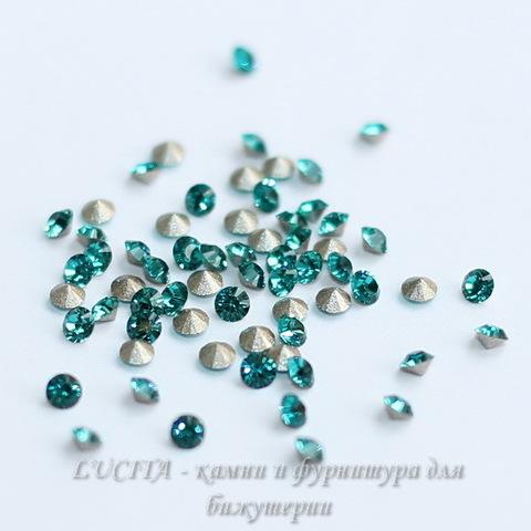 1028 Стразы Сваровски Blue Zircon PP 14 (2-2,1 мм), 10 штук