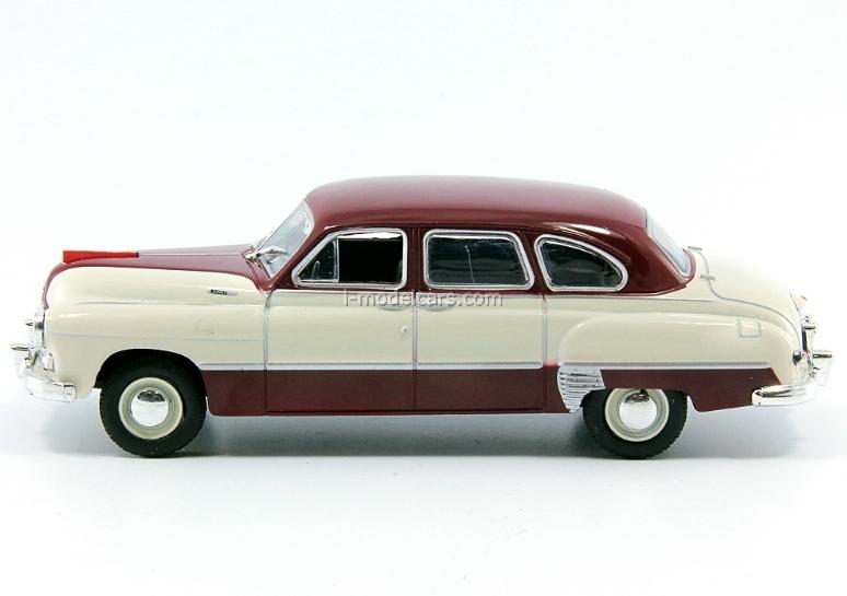 GAZ-12 ZIM-12 beige-darkred 1:43 DeAgostini Auto Legends USSR Best #2