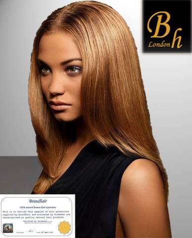 Набор мега 9 прядей,цвет  #7-светлый коричнево-золотистый-38 CM