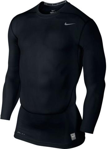 Рубашка беговая компрессионная Nike Pro Combat Core Compression мужская