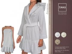Халат махровый Timas Jasmine белый