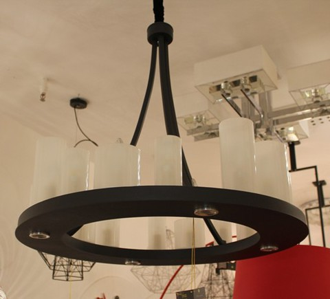 Kevin Reilly Altar Round pendant lamp D80