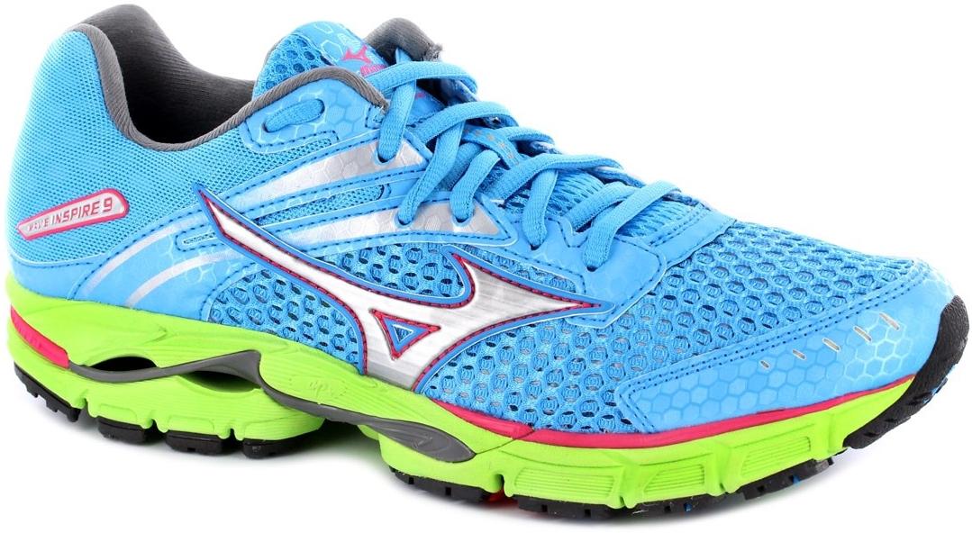 Mizuno Wave INSPIRE 9 Кроссовки для бега женские Blue