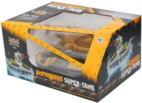 Радиоуправляемый танк-амфибия YED Amphibious Super-Tank (код: 24883B)