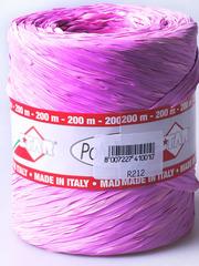 Рафия моток розово-сиреневый