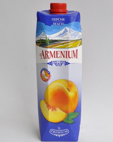 Нектар Армениум персиковый, 1л
