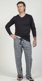 Комплект мужской одежды для дома Blue Lemon