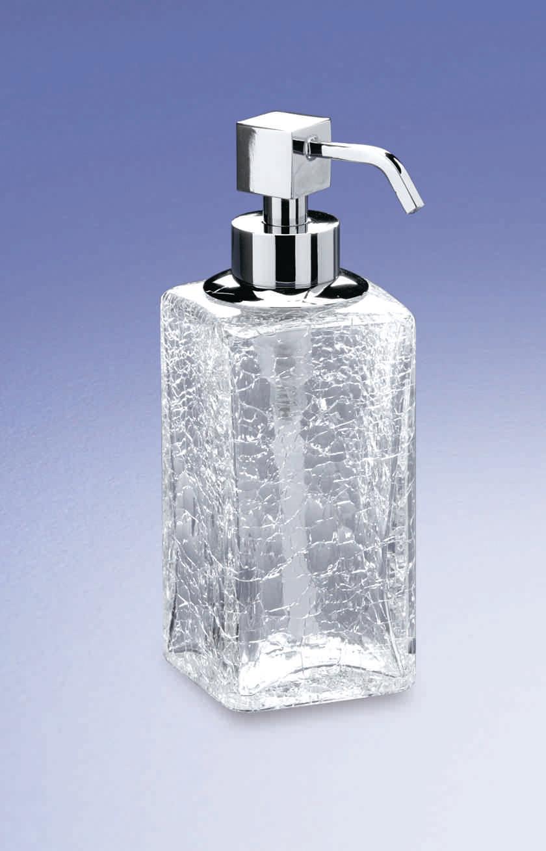 Дозаторы для мыла Дозатор для мыла Windisch 90412CR Cracked Crystal dispenser-dlya-myla-90412-cracked-crystal-ot-windisch-ispaniya.jpg