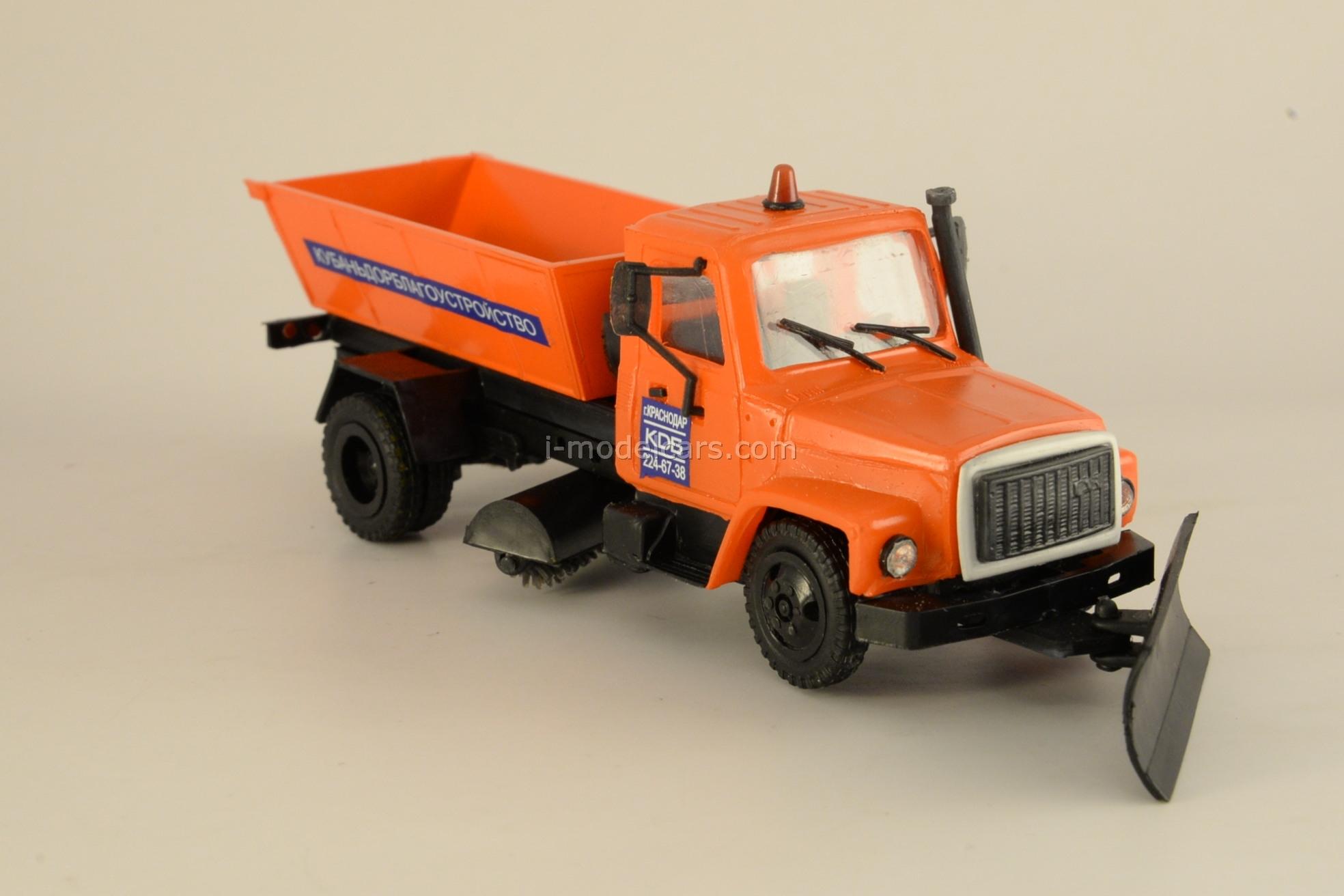 GAZ-3309 gritter Kompanion 1:43