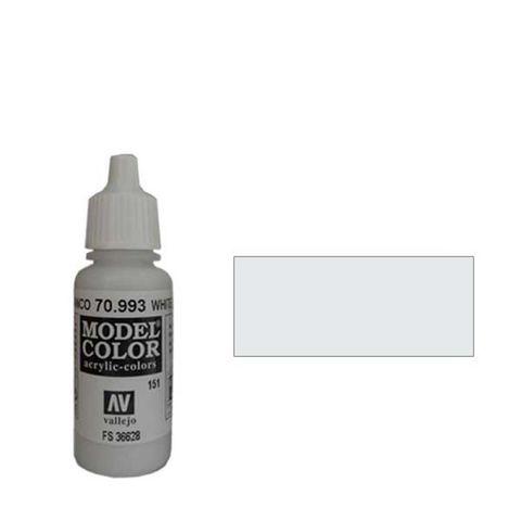 151. Краска Model Color Бело- серый 993 (White Grey) укрывистый, 17мл