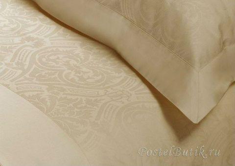 Постельное белье 2 спальное Roberto Cavalli Damasco бежевое