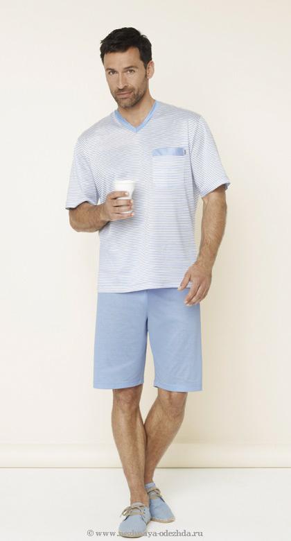 Хлопковый комплект с шортами Zimmerli