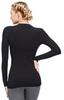 Женская термобелье рубашка с длинным рукавом и круглым воротом Norveg Classic (3L1RL-002)