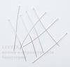 Комплект пинов - гвоздиков (цвет - серебро) 50x0,5 мм, примерно 500 штук ()