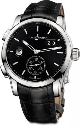 Купить Наручные часы Ulysse Nardin 3343-126-92 Dual Time Manufacture по доступной цене