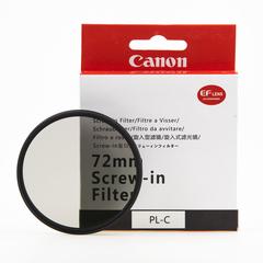 Поляризационные светофильтры Canon PL-C 72 мм