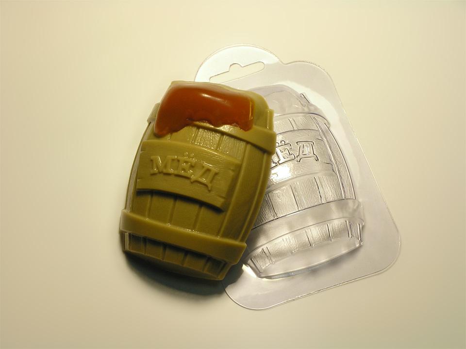Бочка мёда Форма для мыла