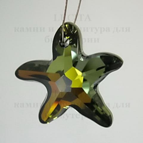 6721 Подвеска Сваровски Морская Звезда Crystal Tabac (20 мм) ()