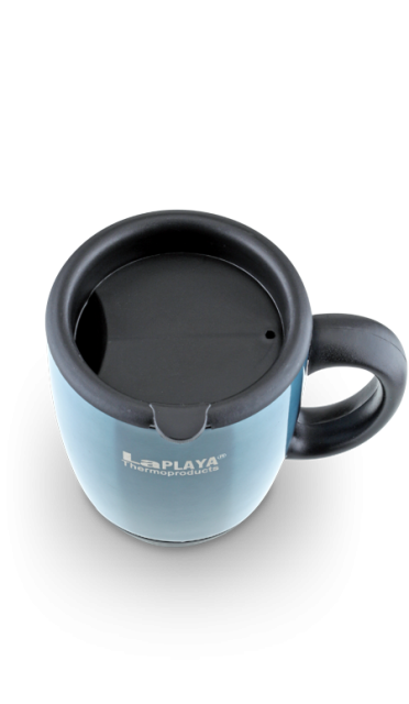 Термокружка La Playa DFD 2040 (0.45 литра) голубая