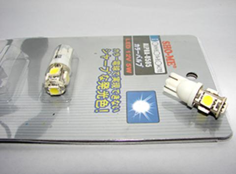 Светодиодные лампы T10/W5W Sho-me Alpha-0505