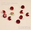 Стразы ювелирные (цвет - красный) 3 мм, 10 шт ()
