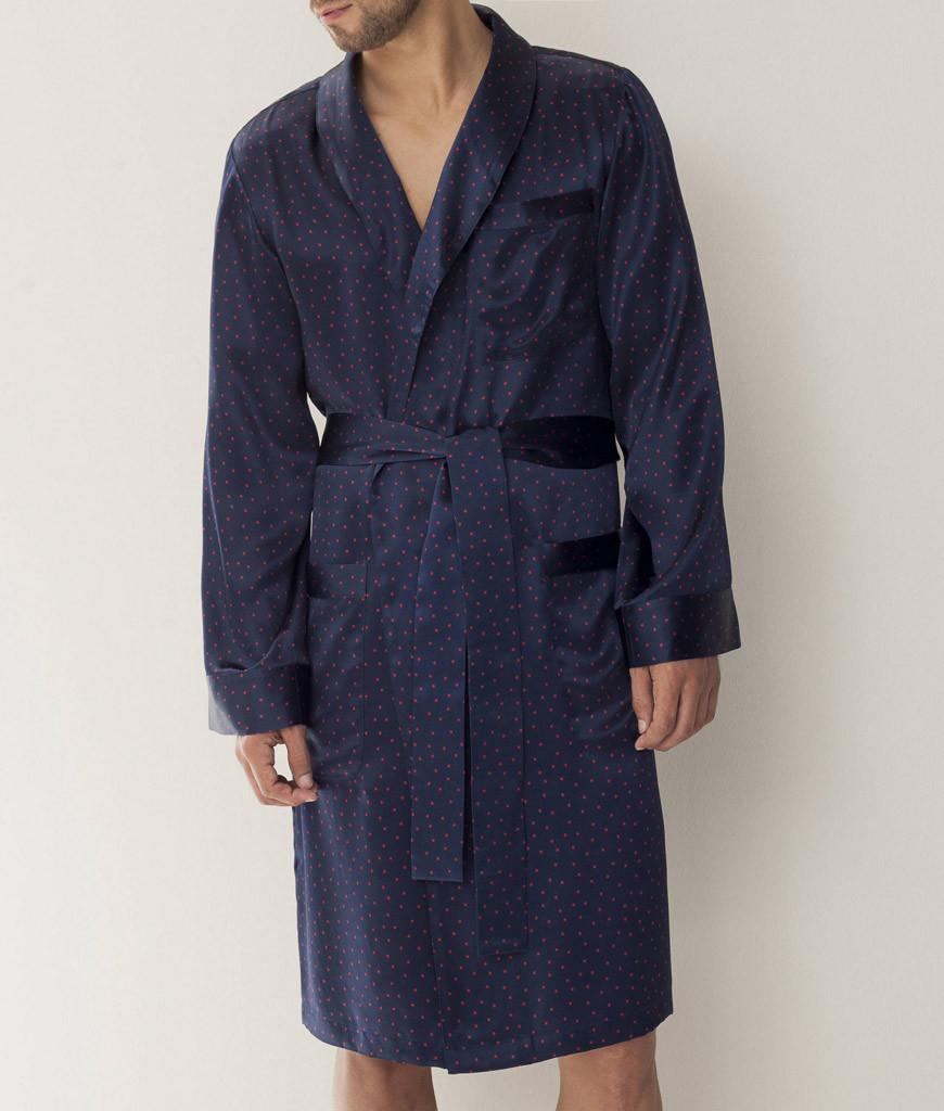 Шелковый халат мужской Zimmerli (Мужские халаты)