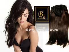 Набор волос Easy Hair-Оттенок 2A-горький шоколад прямые волосы 60 CM