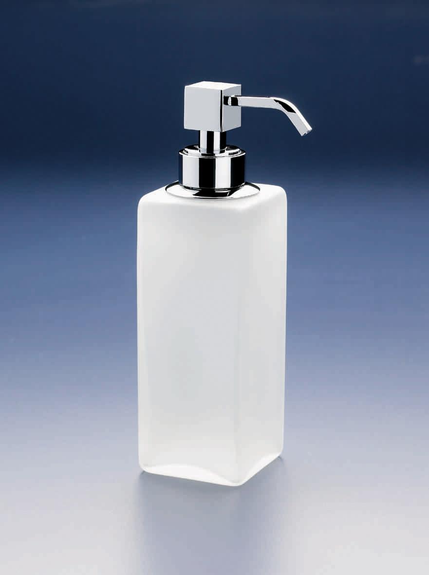 Дозаторы для мыла Дозатор для мыла Windisch 90412MCR Crystal dispenser-dlya-myla-90412-crystal-mate-ot-windisch-ispaniya.jpg