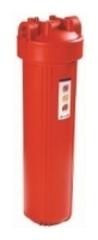 Комплект PS 908-BK1-PR (корпус ВВ20 для г/в, рыжая колба, ключ, кронштейн, картридж) Райфил
