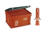 Дюбель нейлоновый Mungo MN диаметр 8 мм в пластиковом ящике (Maxi-Box) 2800 шт