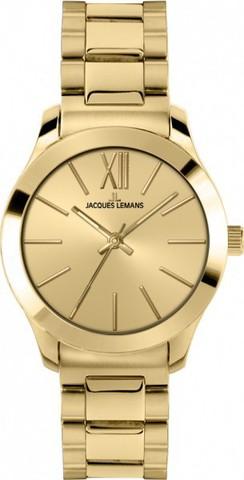 Купить Женские наручные часы Jacques Lemans 1-1840G по доступной цене