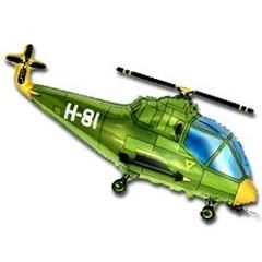 Вертолет (зеленый) 14