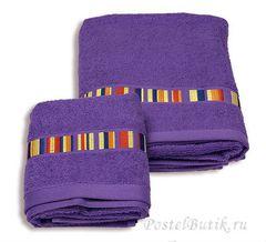 Полотенце 100х150 Caleffi Yupi фиолетовое