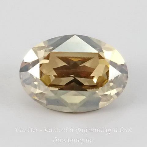 4120 Ювелирные стразы Сваровски Crystal Golden Shadow (14х10 мм) ()