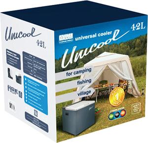 Абсорбционный (газовый) автохолодильник Camping World Unicool - 42 (42л)
