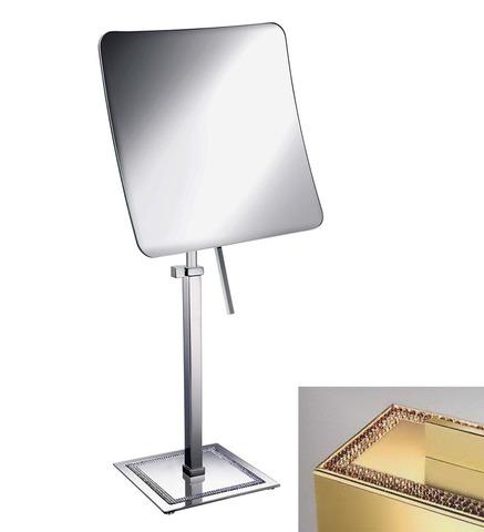 Элитное зеркало косметическое 99537O 5X Shine Light Square от Windisch