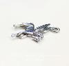 "Подвеска Quest Beads ""Пегас"" (цвет-античное серебро) 23х19 мм"