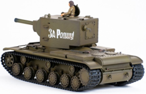 Радиоуправляемый танк VsTank KV-2 (стрельба, звук, детализация) (1:24) (код: A02107255)