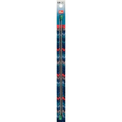 Спицы прямые 2мм/30см PRYM 191450