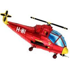 Вертолет (красный) 14