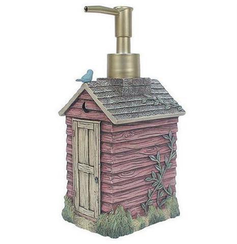 Дозатор для жидкого мыла Outhouses от Avanti