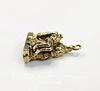 """Подвеска Quest Beads """"Пиета"""" 3D (цвет-античное золото) 23х16 мм"""