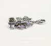 "Подвеска Quest Beads ""Собор Святого Петра"" (цвет-античное серебро) 23х14 мм"
