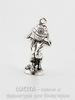 "Подвеска Quest Beads ""Атлант"" 3D (цвет-античное серебро) 24х12 мм"