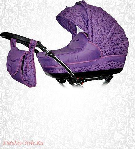 """Коляска Stroller B&E """"Maxima Magic"""" 2в1 (Поворотные Колеса)"""