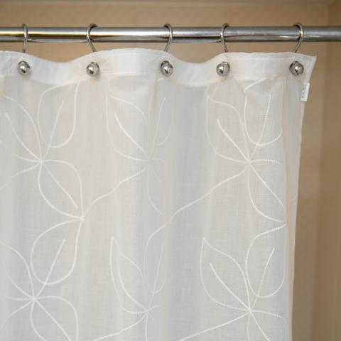 Элитная шторка для ванной Embroidery 1805 Hojas от Arti-Deco