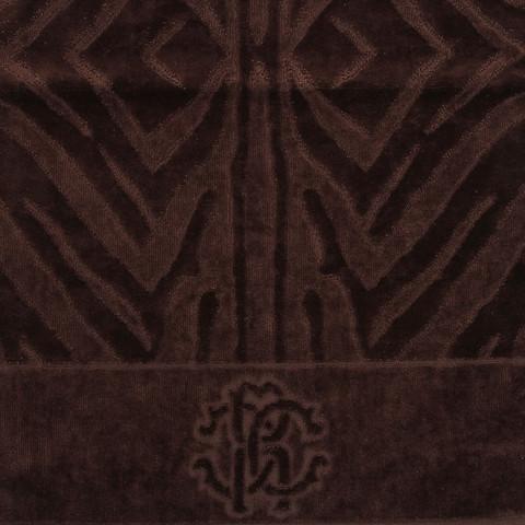 Набор полотенец 2 шт Roberto Cavalli Zebrona коричневый