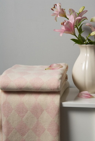 Плед детский 100х150 Luxberry Imperio 50 розовый