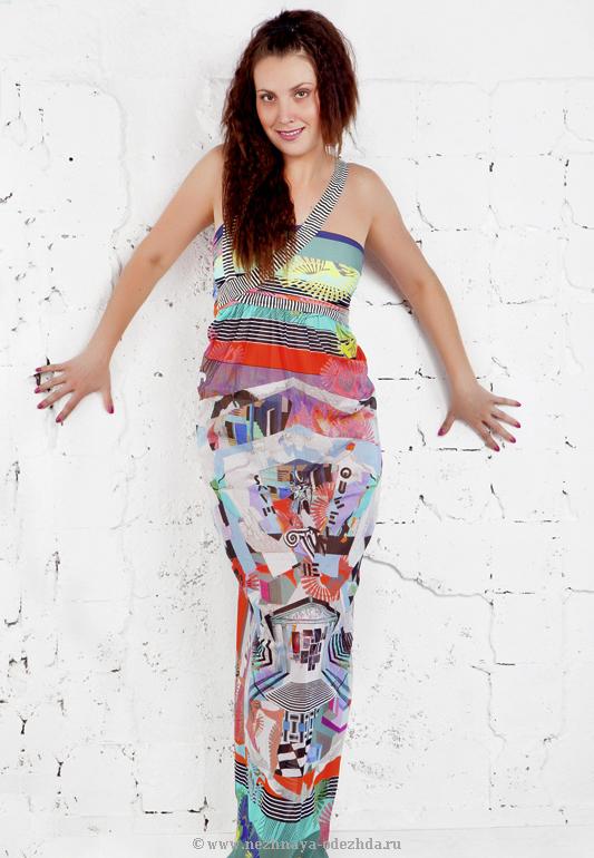 Стильное женское платье Save The Queen (Летняя и пляжная одежда)